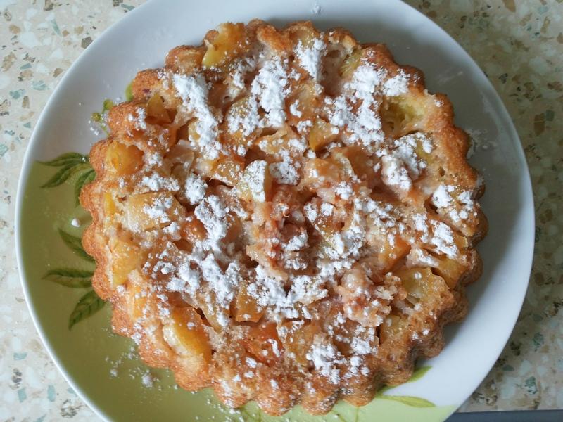 Рецепт пошаговый с шарлотка с яблоками в мультиварке