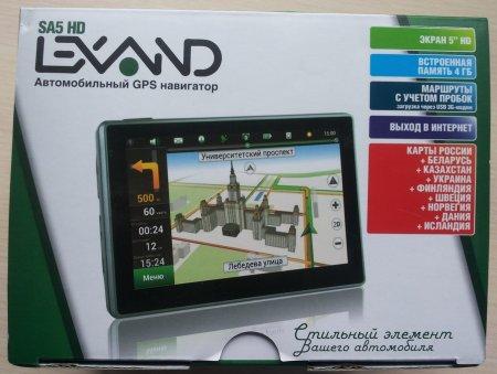 Автонавигатор Lexand SA5 Navitel