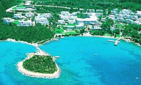 Отели Бодрума 5 звезд первая линия все включено собственный пляж
