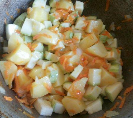 как готовить рагу с картошкой