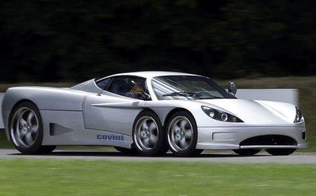 шестиколесные автомобили