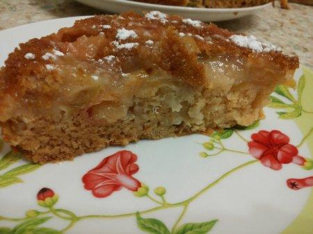 шарлотка с яблоками рецепт со сметаной