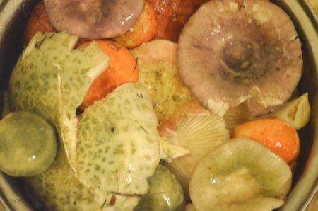 грибочки для маринования