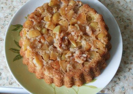 Постная шарлотка с яблоками - идеальный рецепт