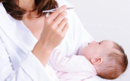 Как сбить температуру у ребенка при ангине