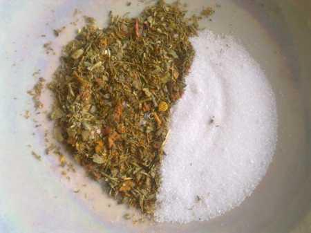 пряности и соль