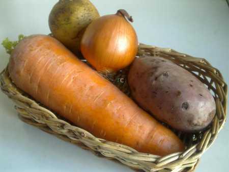 овощи для блюда