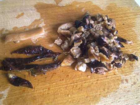 нарезка грибов для зраз