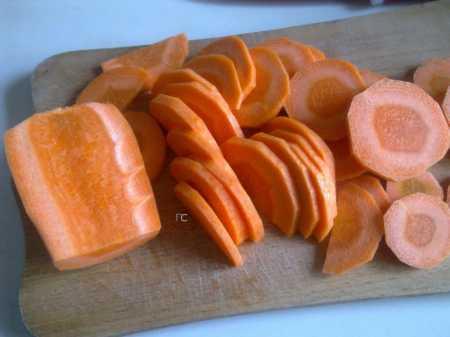 морковь нарезка
