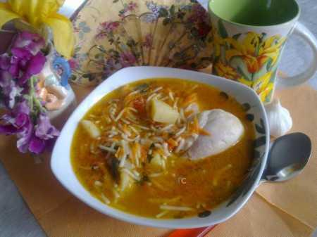 суп вермишелевый рецепт с фото