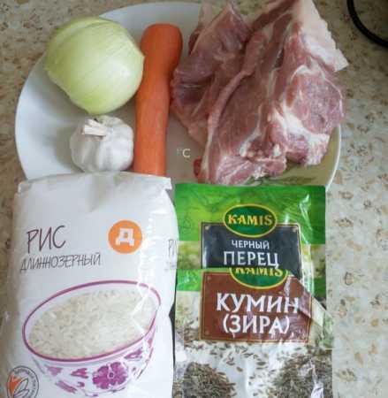 продукты для приготовления по рецепту