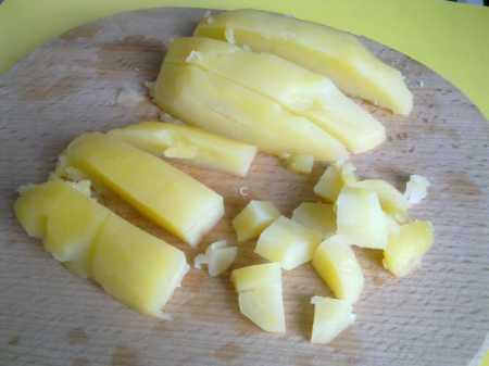 картофель для окрошечной смеси
