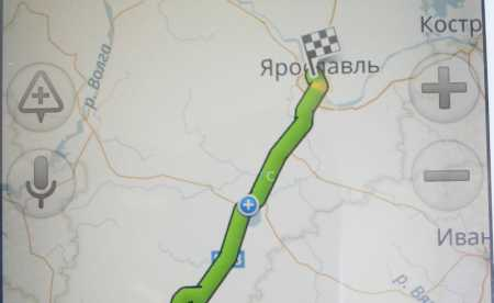 Навигатор онлайн Яндекс: проложить маршрут
