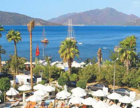 Отели Мармариса, 5 звезды, первая линия, все включено, собственный пляж