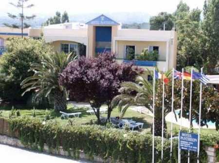 Pantheon hotel 3 Крит Ретимно
