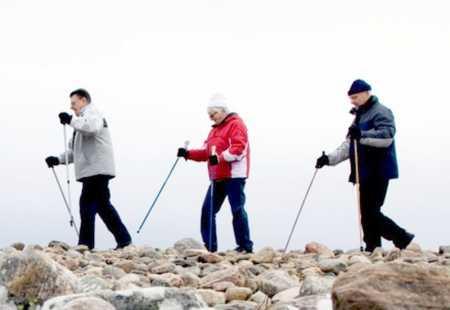 скандинавская техника для пожилых