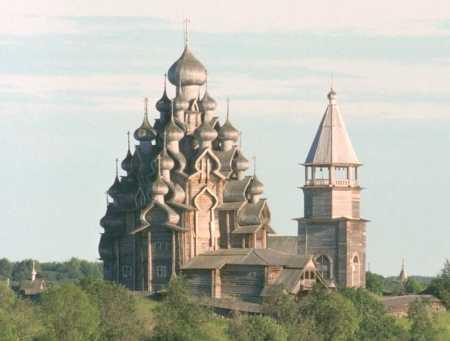 Преображенская церковь на о Кижи