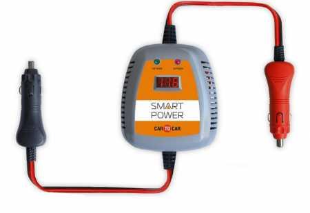 зарядка аккумулятора от прикуривателя