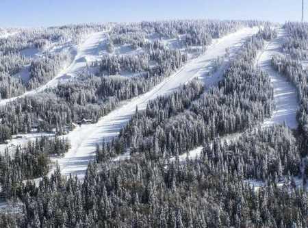 горная трасса горы белой