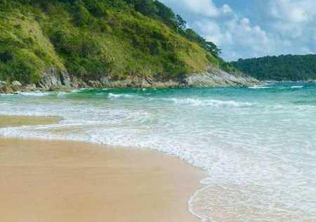 море Пхукета и пляж най харн