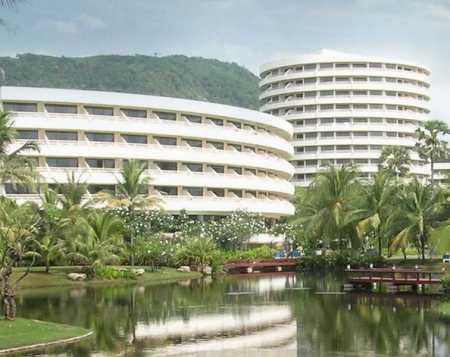 вид на Hilton Arcadia Resort Пхукет Таиланд