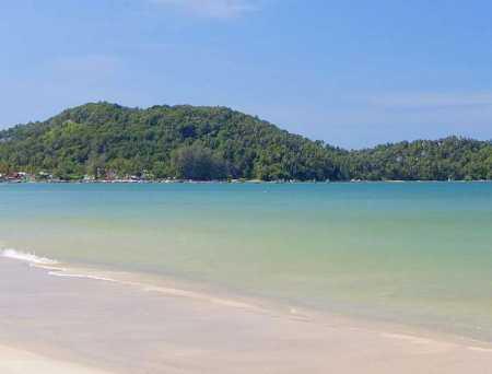 песок пляжа банг тао