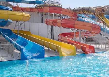 аквапарк отеля на кипре