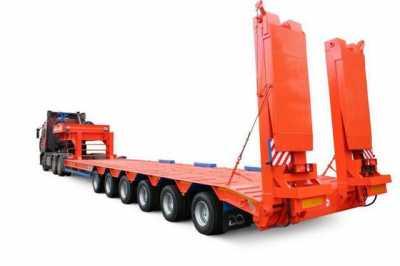 низкие платформы для перевозки грузов