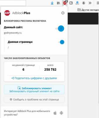 Яндекс adblock